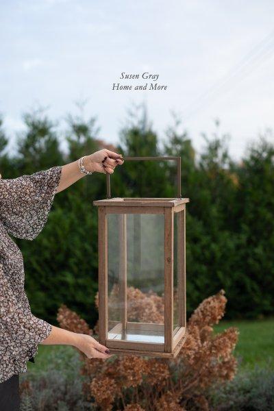 Lampion drewniany | dodatki |