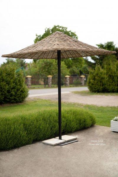 Parasol rattanowy | dodatki |