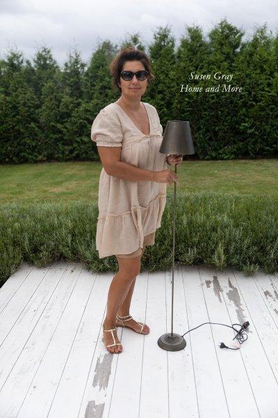 Lampa stojąca - metalowa | lampy-zyrandole-abazury |