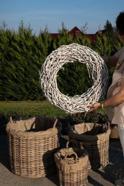 Wianek - średnica 58cm | koszyki-kosze-wianki |