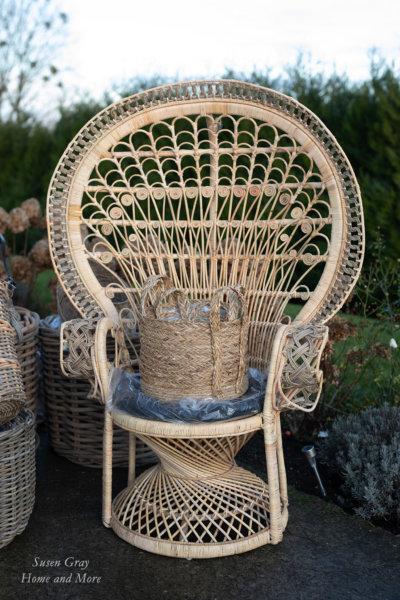 Fotel rattanowy - naturalny | stoly-stoliki-krzesla-fotele |