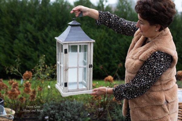Lampion szary - duży | lampy-zyrandole-abazury |