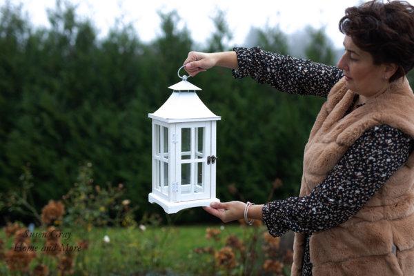 Lampion biały - mały | lampy-zyrandole-abazury |