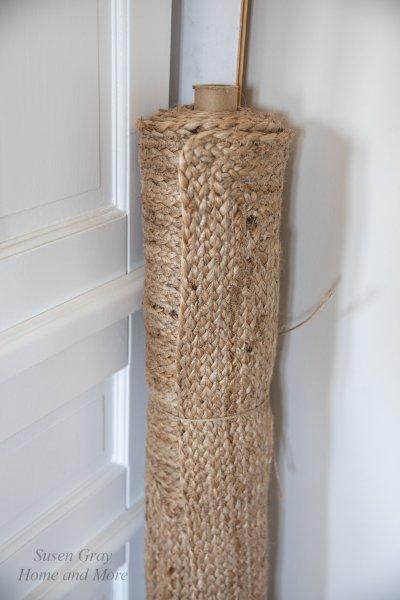 Chodnik/dywan z juty - prostokątny 75/120cm | dodatki |
