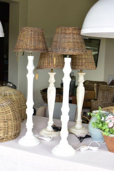 Podstawa do lampy - drewniana H 60cm | lampy-zyrandole-abazury |