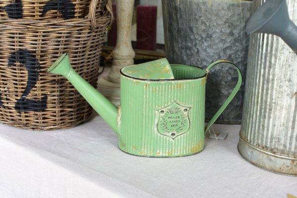 Konewka dekoracyjna - zielona | dodatki |