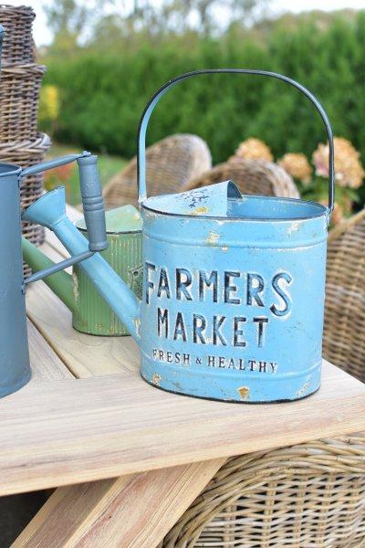 "Konewka ""Farmers Market"" - niebieska | dodatki |"