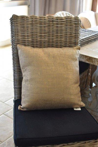 Poduszka GYPSY - złota 45/45 | koce-poduszki-pledy |
