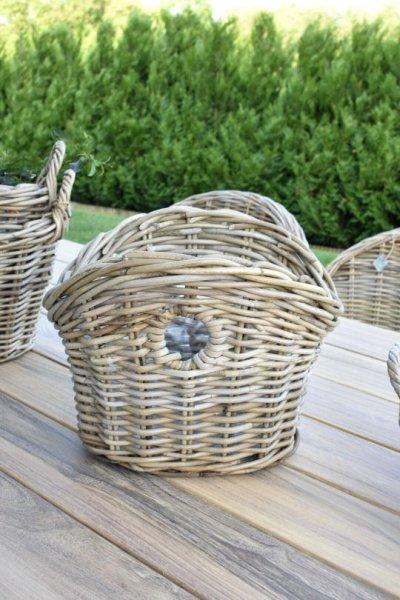 Koszyk rattanowy na szpargały