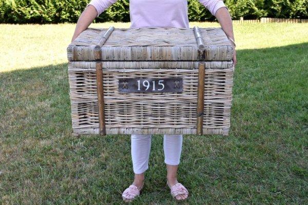 Kufer rattanowy 1915 - duży
