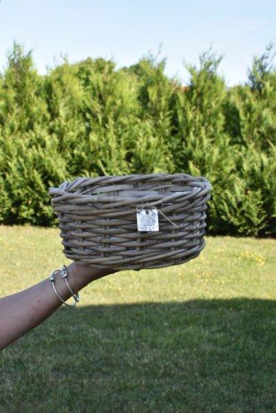 Koszyk wiklinowy - okrągły