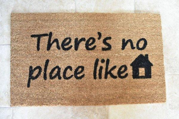 """Wycieraczka """"There is no place like Home""""   dodatki  """