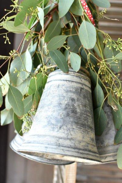 Dzwonek blaszany - wysokość 20cm | dodatki |