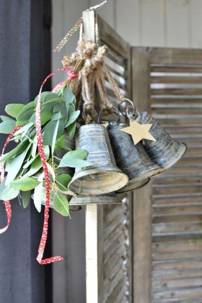 Dzwonek blaszany II - wysokośc 13cm | dodatki |