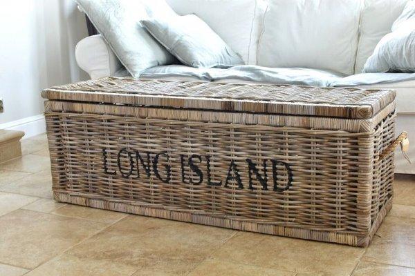 Kosz rattanowy LONG ISLAND | koszyki-kosze-wianki |