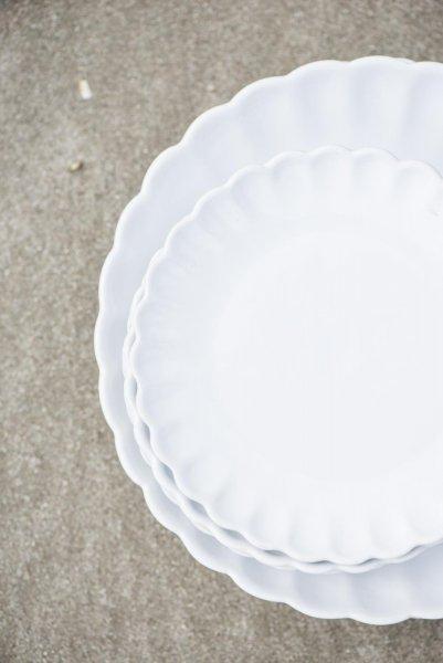 Talerz Mynte Pure White Ib Laursen | talerze-talerzyki |
