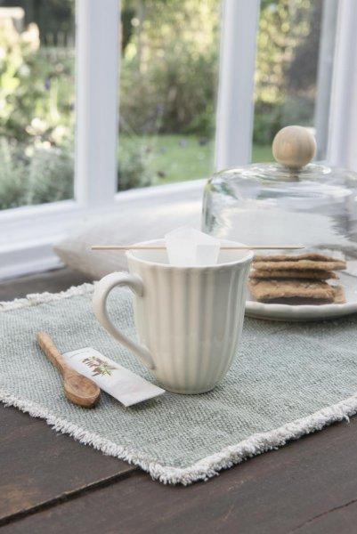 Talerz Mynte Butter Cream Ib Laursen | talerze-talerzyki |
