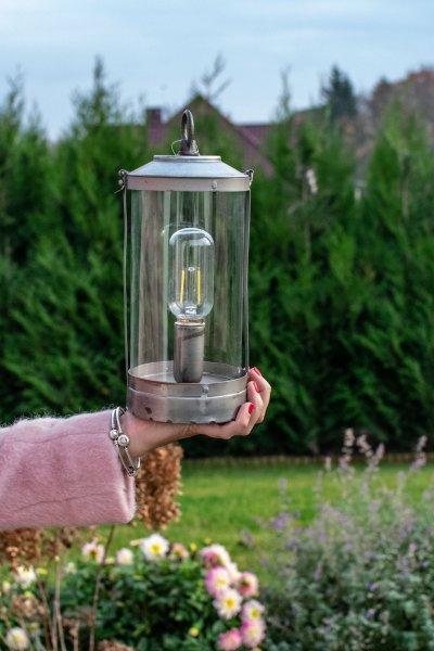 Lampion metalowy   dodatki  